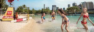 Southbank Brisbane beach